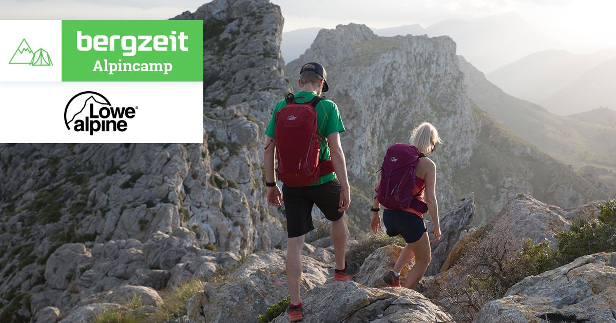 Jubiläumsgrat Klettersteigset : Bergzeit alpincamp mit lowe alpine vom jubiläumsgrat zur