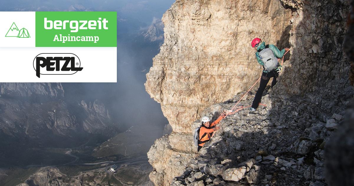 Petzl Klettergurt Sitta : Bergzeit alpincamp mit petzl: klettern michi wohlleben u2013 der